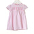BLUES BABY PINK HEART SMOCK DRESS AND KNICKERS