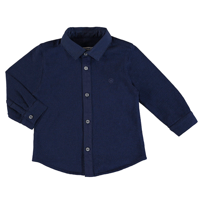 MAYORAL SMART WOVEN BABY SHIRT