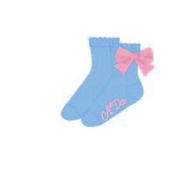 A*DEE NIC BOW ANKLE SOCKS