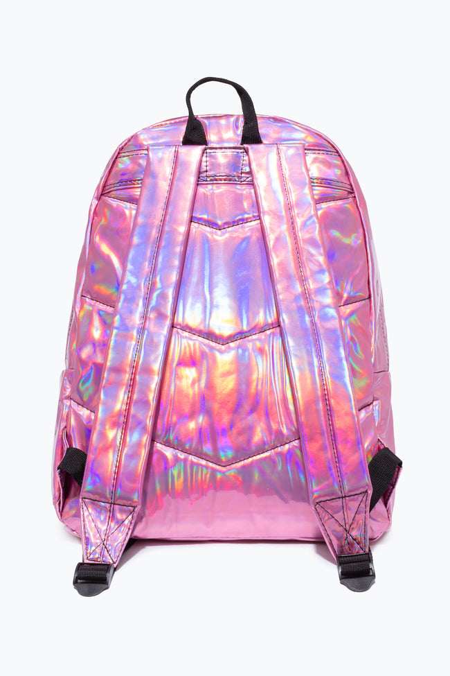PINK HOLOGRAPHIC HYPE BACK PACK