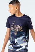 HYPE BOYS GOLD LINE CAMO T-SHIRT