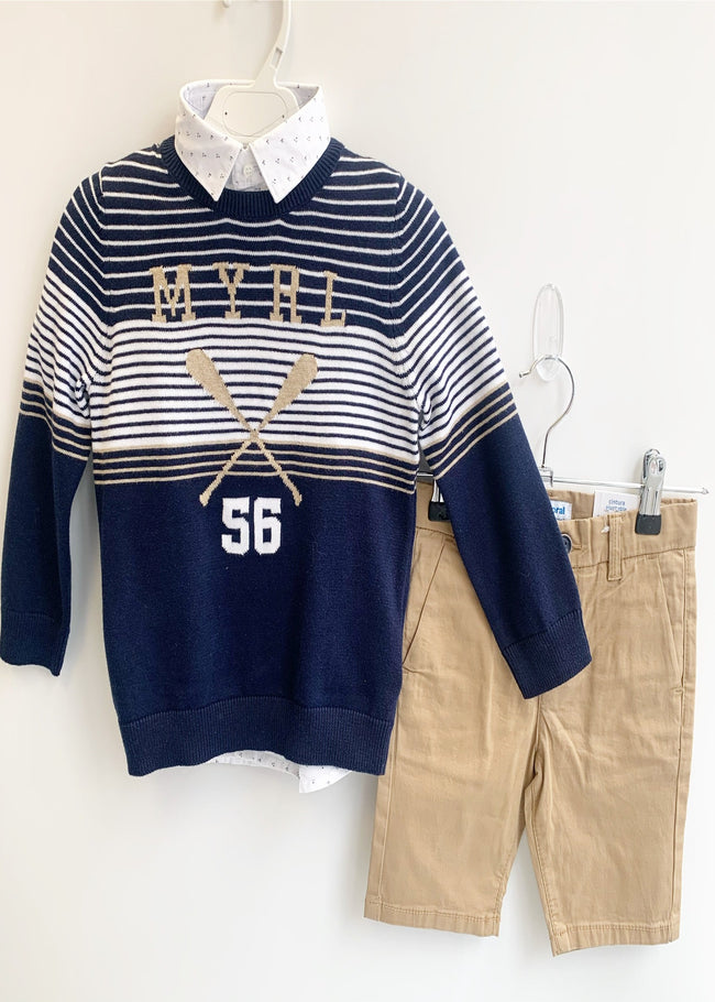 MAYORAL NAUTICAL JUMPER SET
