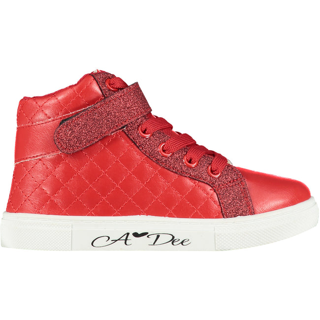 KRISS KROSS QUEEN OF HEARTS HIGH TOP TRAINERS