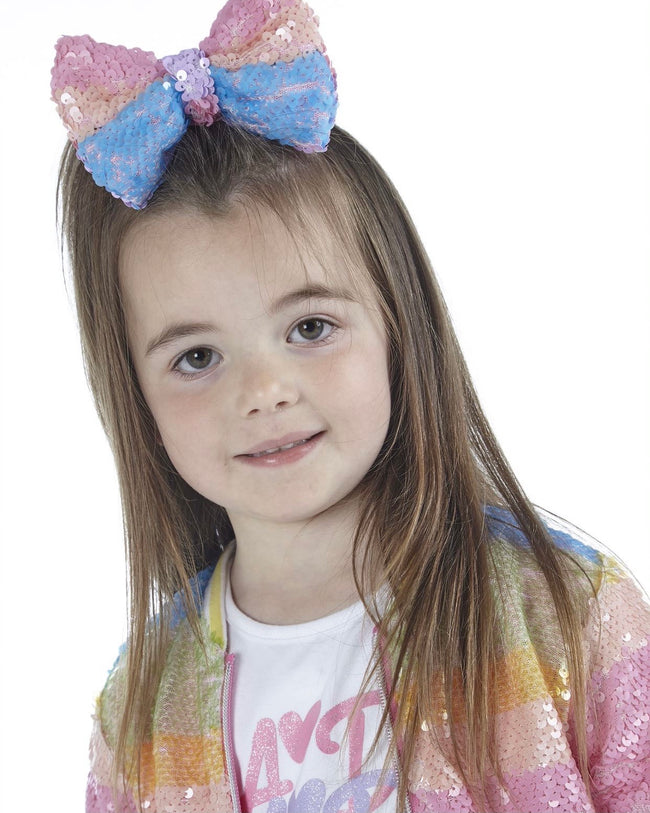 A*DEE NORTHIE SEQUIN HAIR BOW