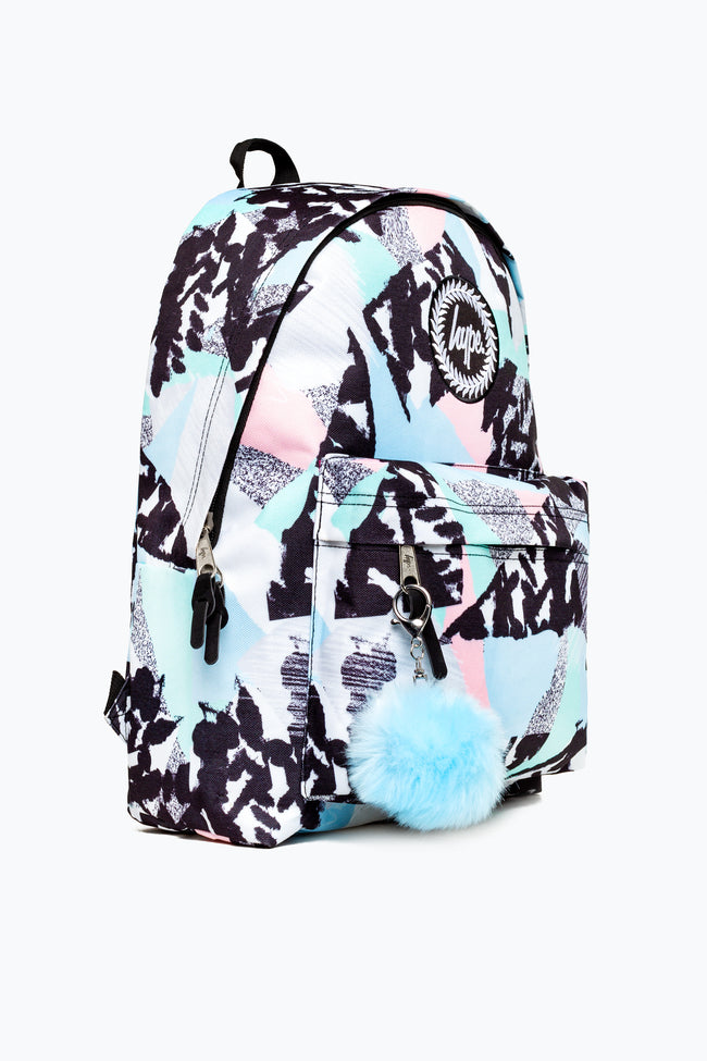PASTEL ABSTRACT HYPE BACKPACK