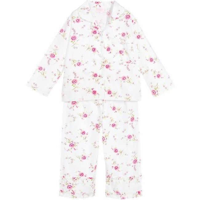 TRADITIONAL FLOWER PYJAMAS