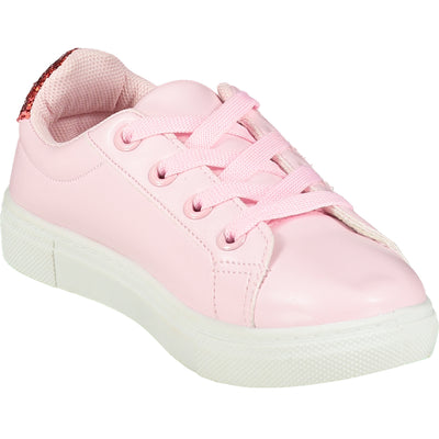LOVE HEART QUEEN OF HEARTS LOW TOP TRAINERS