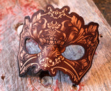 Hydro74 Natural Leather Flourish Mask Male