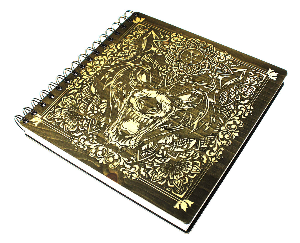 Hydro74 Ornate Wolf- Limited Edition Artist Sketchbook