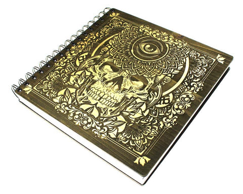 Hydro74 Ornate Skull- Limited Edition Artist Sketchbook