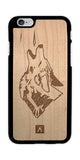 Howling Coyote iPhone Case