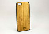 i5 Black Rubberized And Bamboo Carmel