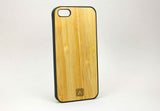 i5 Black Rubberized And Bamboo Natural