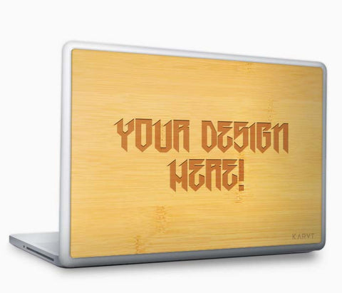Custom Engraved MacBook Skin