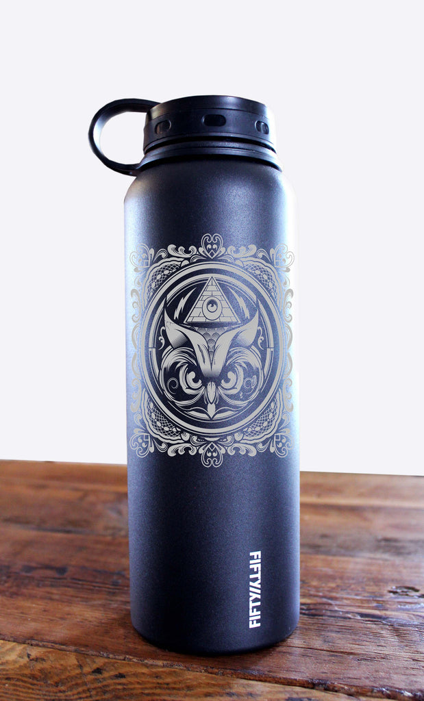 Hydro74 Stainless Steel Owl Mini Growler