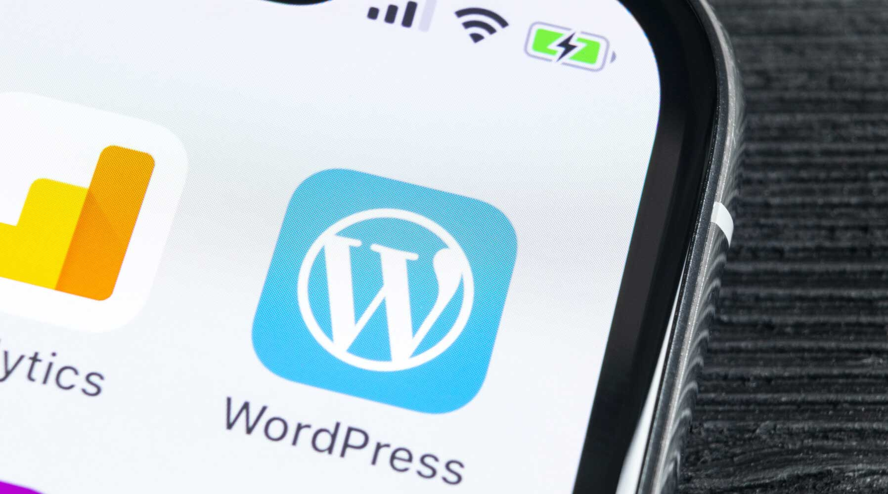 WordPress App Icon for Theme Design