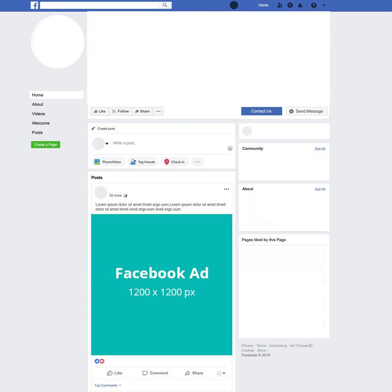 Banner Ads-Facebook Ad-Static (No animation)-Standard (48 Hours)-Designpax.com