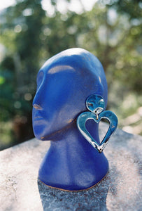 XXL HEART EARRINGS