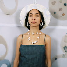 Load image into Gallery viewer, SEA GLASS HOOPS