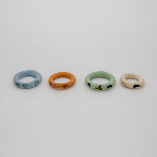 SEA GLASS SIMPLE RING