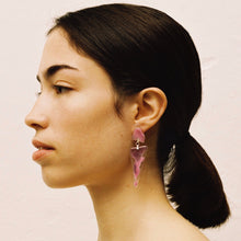 Load image into Gallery viewer, DREW PINK EARRINGS
