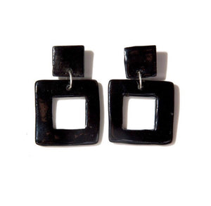L SQUARE EARRINGS
