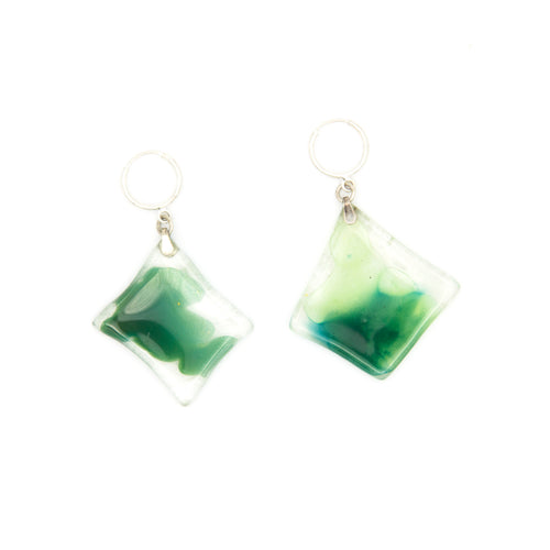 KRYSTAL HOOPS GREEN