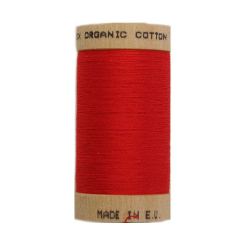 Scanfil Organic Cotton Thread - Red