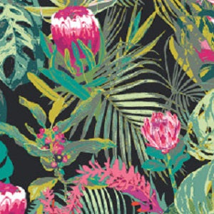 Tropicalia Dark Rayon by Art Gallery Fabrics