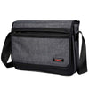 Stylish large capacity waterproof men cross-body bag single-shoulder bag