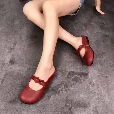 Handmade art Baotou slippers