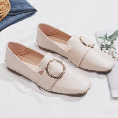 One foot British wind flat bottomversatile loafers