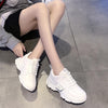 2019 new hot-selling thick bottom wild increased women's casual shoes
