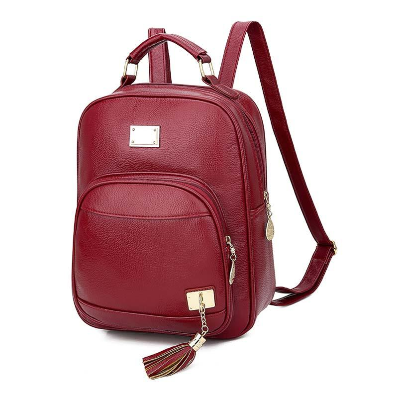 2020 New Fashion Tassel Women's Backpack
