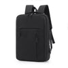 New casual soft-faced solid color business bag notebook backpack