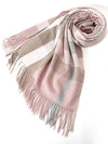 Autumn and winter new imitation cashmere scarf thick warm classic fashion England plaid ladies shawl