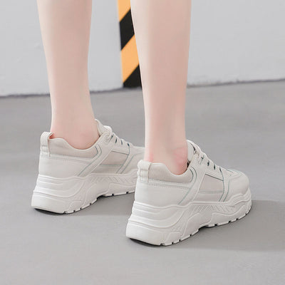 2019 autumn new Korean casual breathable student running sneakers
