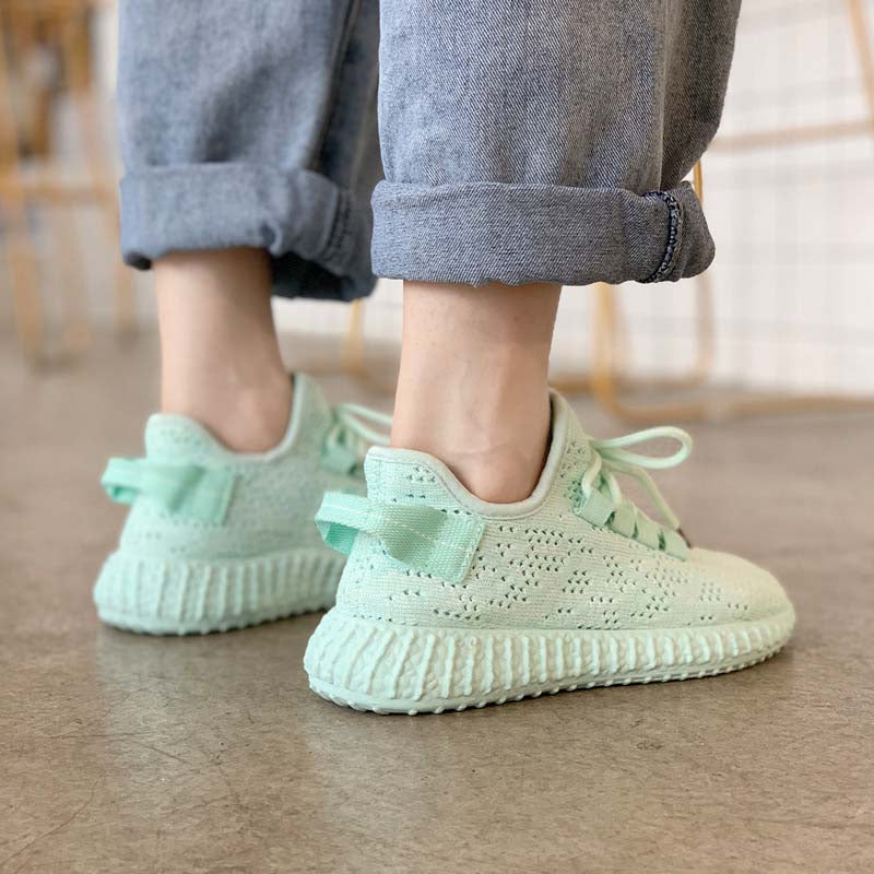 Summer new breathable sports shoes student casual shoes trend women's shoes