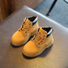 Autumn and winter new casual non-slip soft bottom Martin boots children's boots