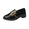 Fashion casual women's low-heeled round small shoes