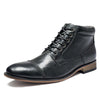 Martin boots men's leather casual lace large size shoes men's leather boots