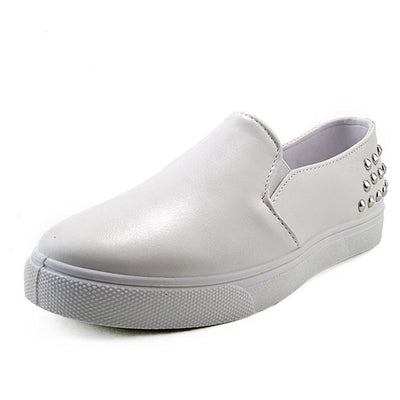Slip-on canvas casual loafers