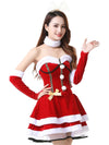 Christmas role playing costume sexy red fun Christmas clothes