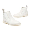 Ankle boots female spring and autumn Chelsea boots British wind casual flat leather ankle boots