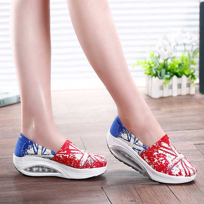 One foot lazy shoe cover foot air cushion canvas single shoes