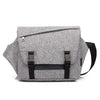 Fashionable men's single-shoulder cross-body bag leisure travel waterproof chest bag multifunctional postman bag male