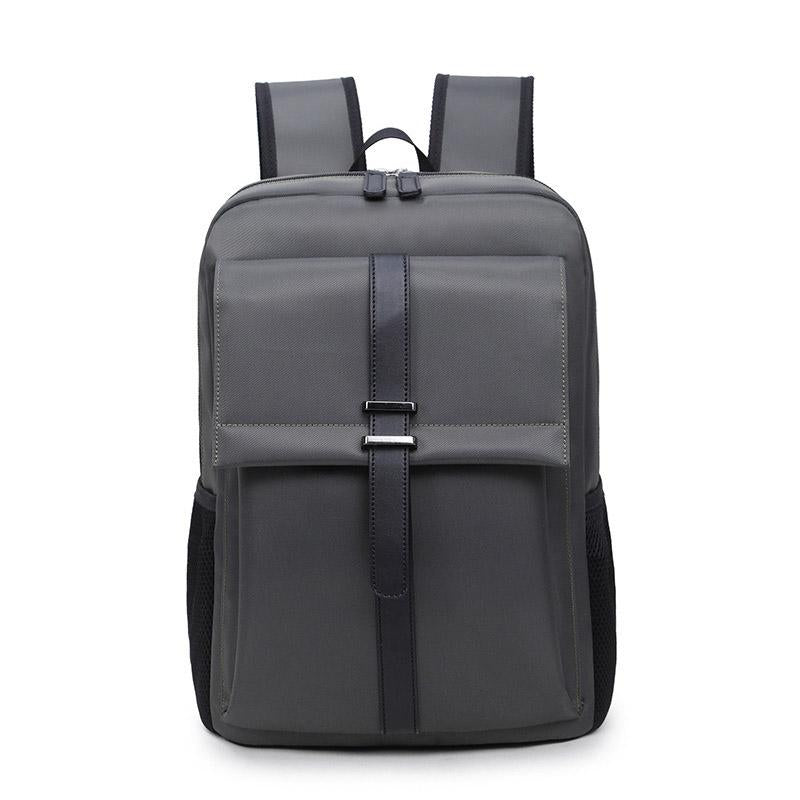 New men and women business office backpack large capacity waterproof simple backpack