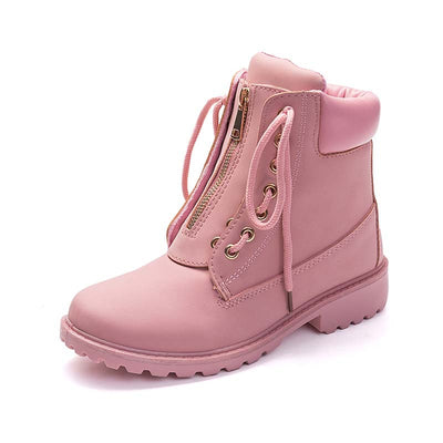 2019 autumn and winter Martin boots women casual two wear flat tooling women's boots