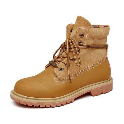 2019 latest rhubarb boots new tide leather retro high help tooling desert boots Martin boots