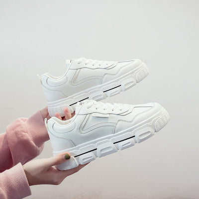 2020 spring new Korean wild low-heeled casual ladies sneakers